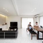 |耐震工法で光の廻廊空間